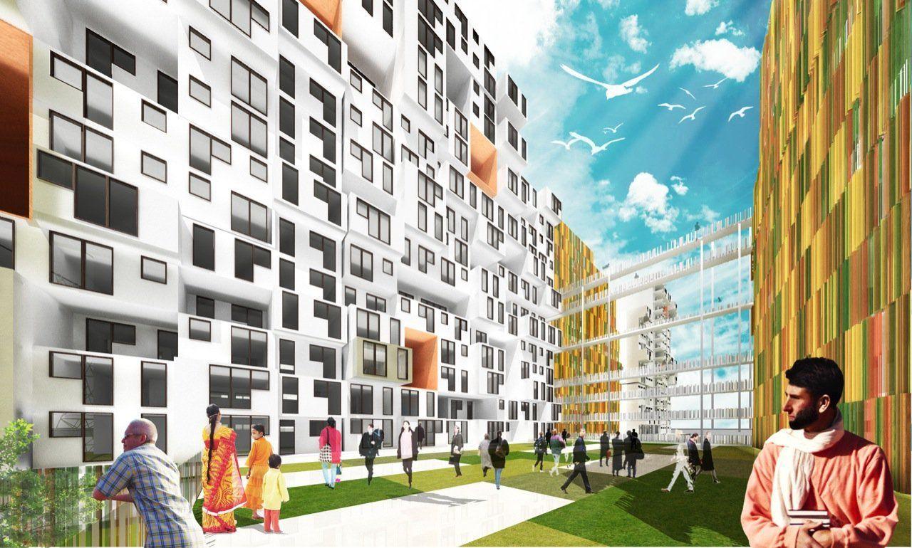 En Construcción Noticias: ABIBOO Architecture y su nuevo edificio en India,© ABIBOO Architecture/ Etapa Concept