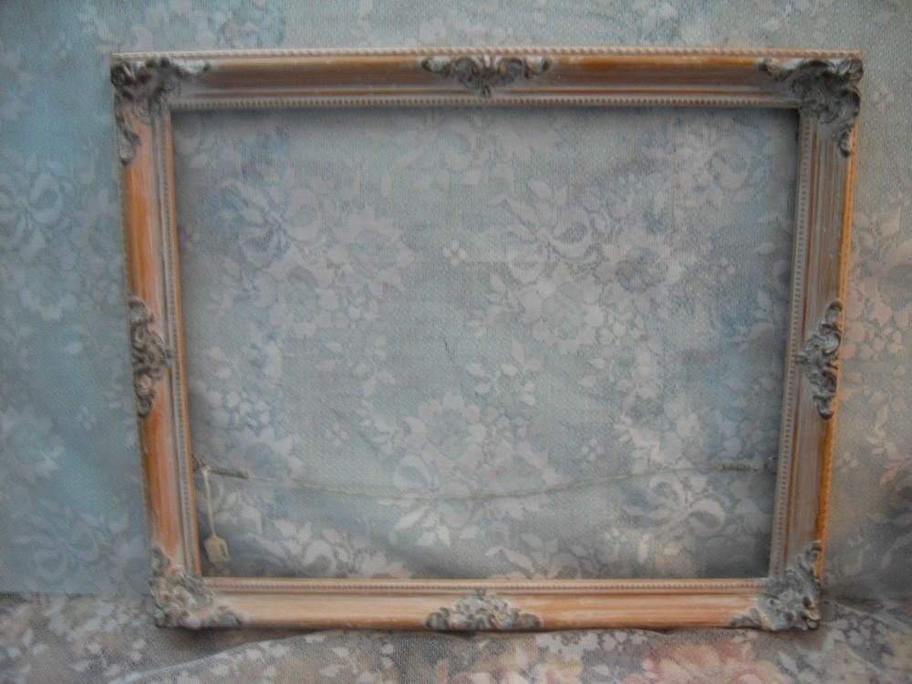 Large Ornate Cottage Open Picture Frame Romantic~Shabby~ Wedding ...