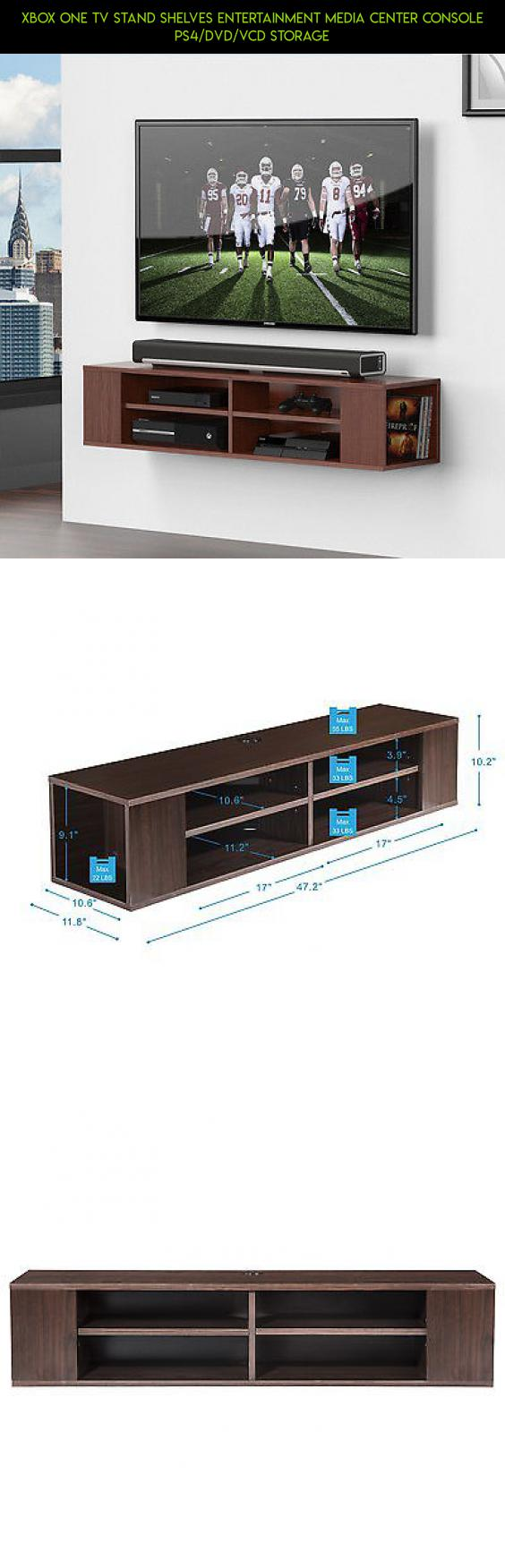 Xbox one TV Stand Shelves Entertainment Media Center Console PS4/DVD ...
