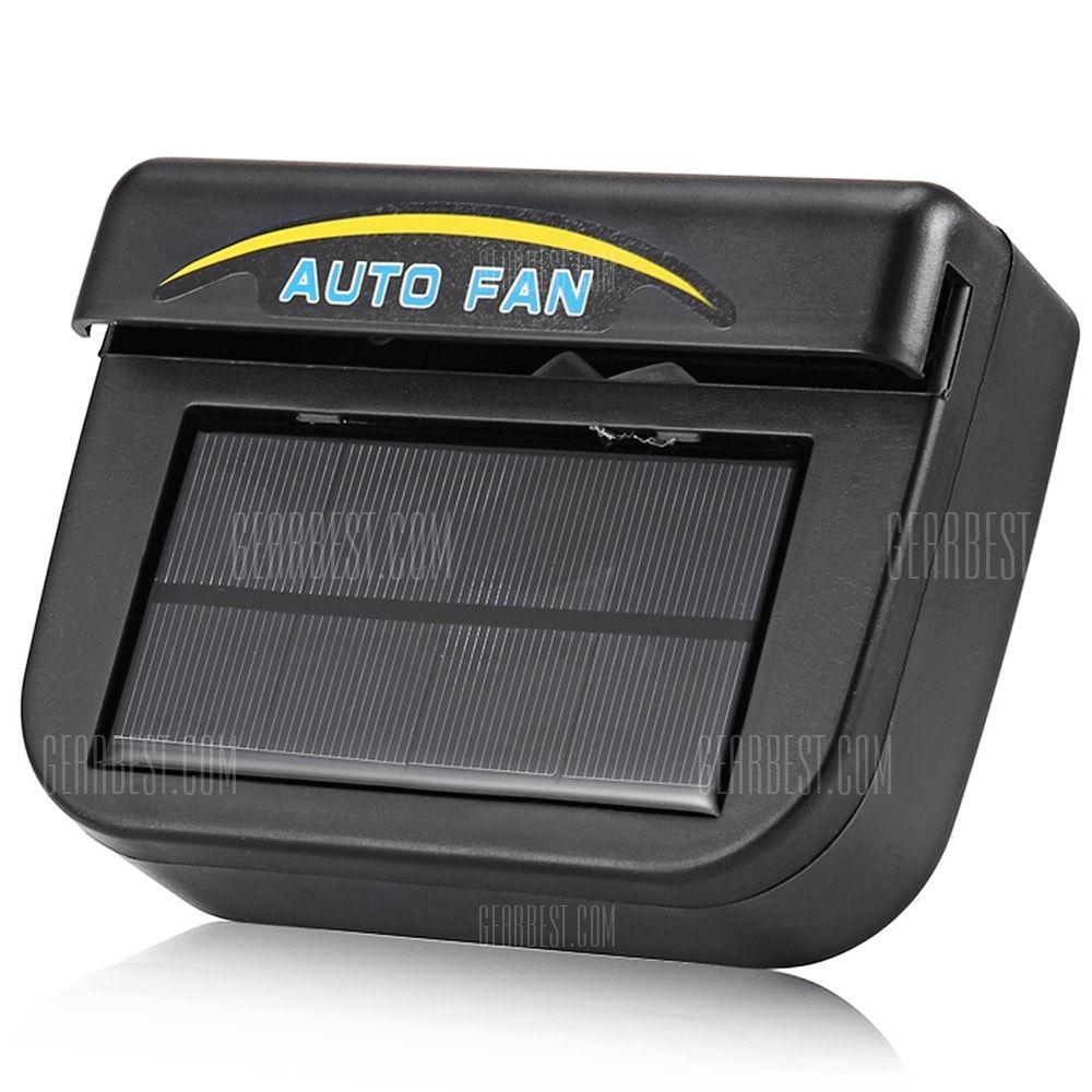 R 8030 Car Exhaust Fan Solar Power Truck Window Cooler