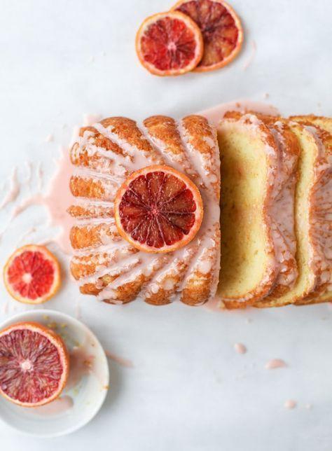 10 best summer dessert ideas - This blood orange yogurt cake is absolutely delightful and perfect for citrus season #summer #desserts #icecream