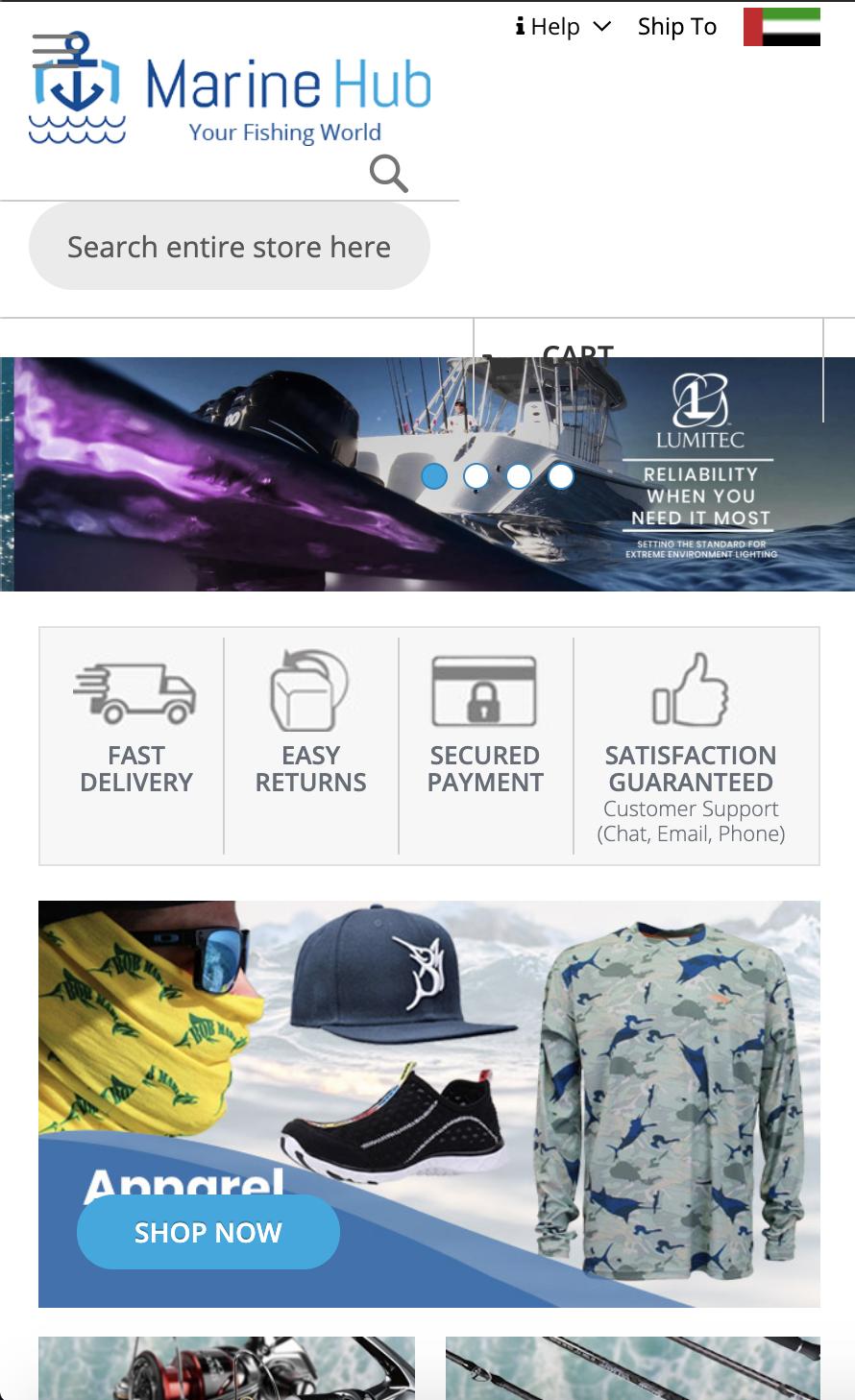 Emarinehub Water Sport Accessories Fishing World Fishing Store