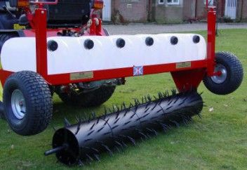 60 inch Sorrel roller attachment. Towable field rollers to maintain your horse paddock, can also be use for garden lawns. Field rollers ensure healthy grass growth for good paddock maintenance. For more info: http://www.fresh-group.com/field-rollers.html