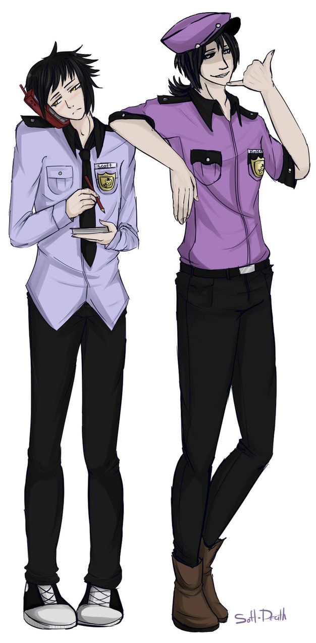 Phone guy x purple guy fanfic lemon - Phone Guy And Purple Guy By Soft Death On Deviantart