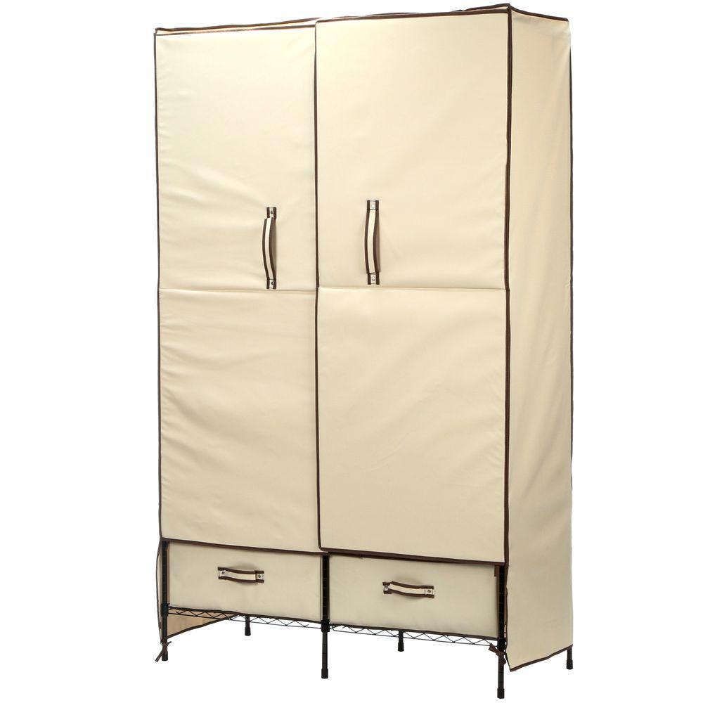 Honey Can Do Portable Wardrobe Storage Closet Wrd 01274 Portable