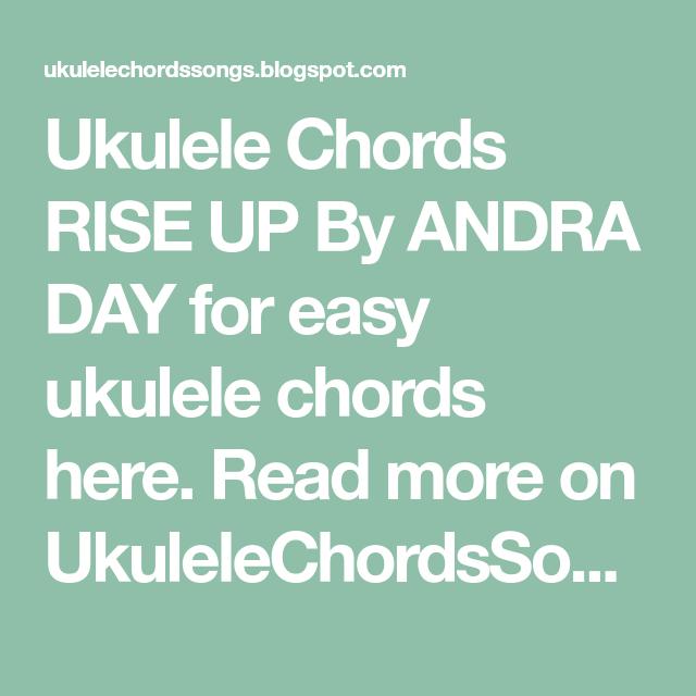 Nice Rise Ukulele Chords Frieze - Chord Sites - creation-website.info