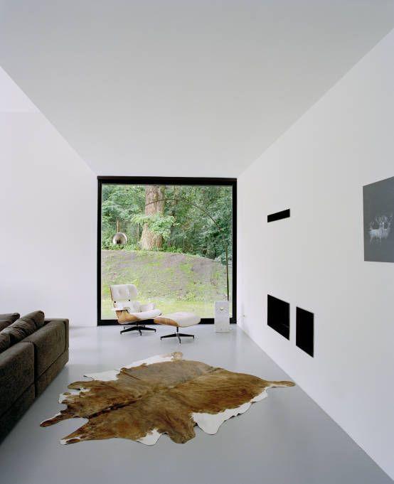 Privathaus bei Berlin von C95 ARCHITEKTEN - architekt wohnzimmer
