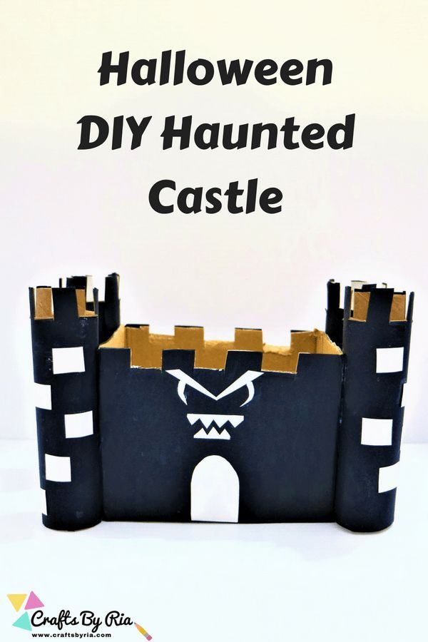 Haunted House craft for kids- DIY Halloween idea | Share Your Craft ...