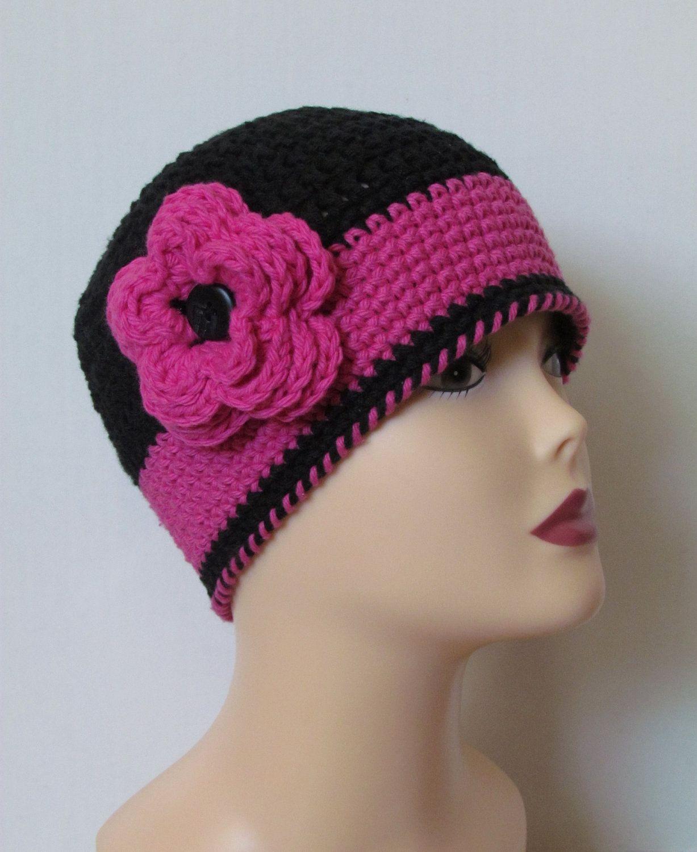 Asombroso Patrón De Crochet Libre Para El Sombrero Del Vendedor De ...