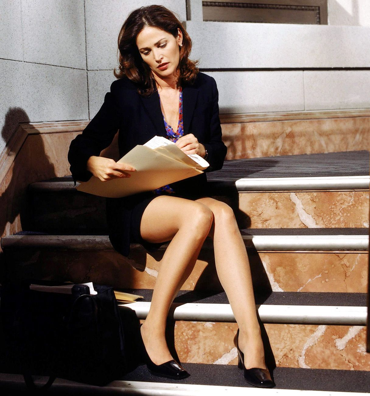 Kim Delaney Went To School For Court Reporting Before She -4649