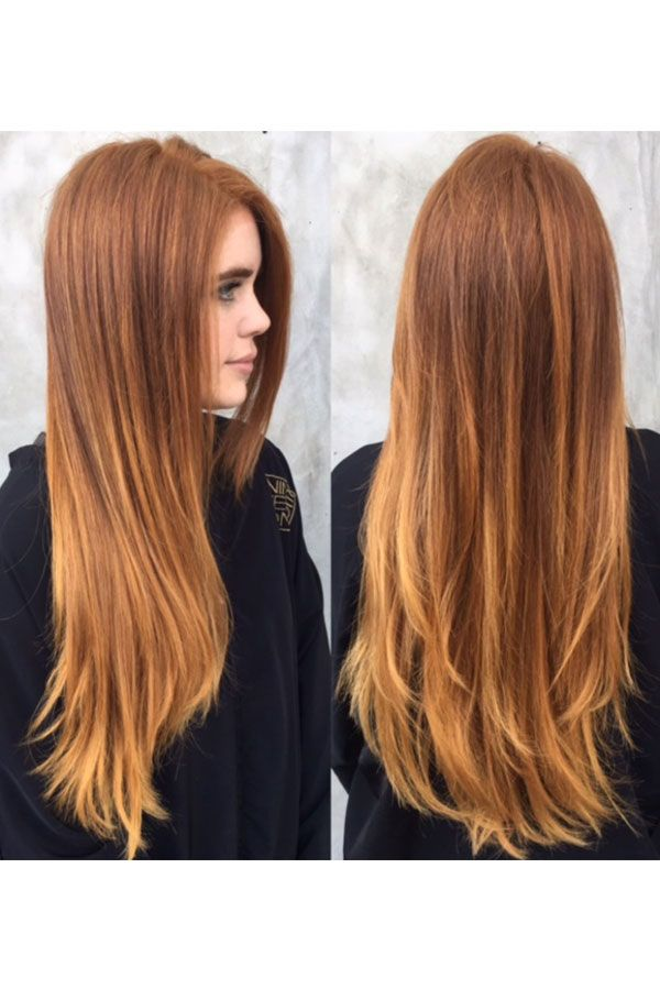 L A Hair Color Trends For Fall Bronze Copper Tones