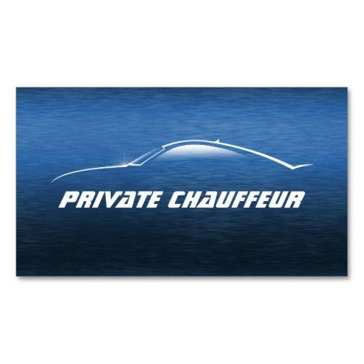 Auto Car Private Chauffeur Driver Appointment Card Zazzle Com Chauffeur Driver Chauffeur Cool Cars