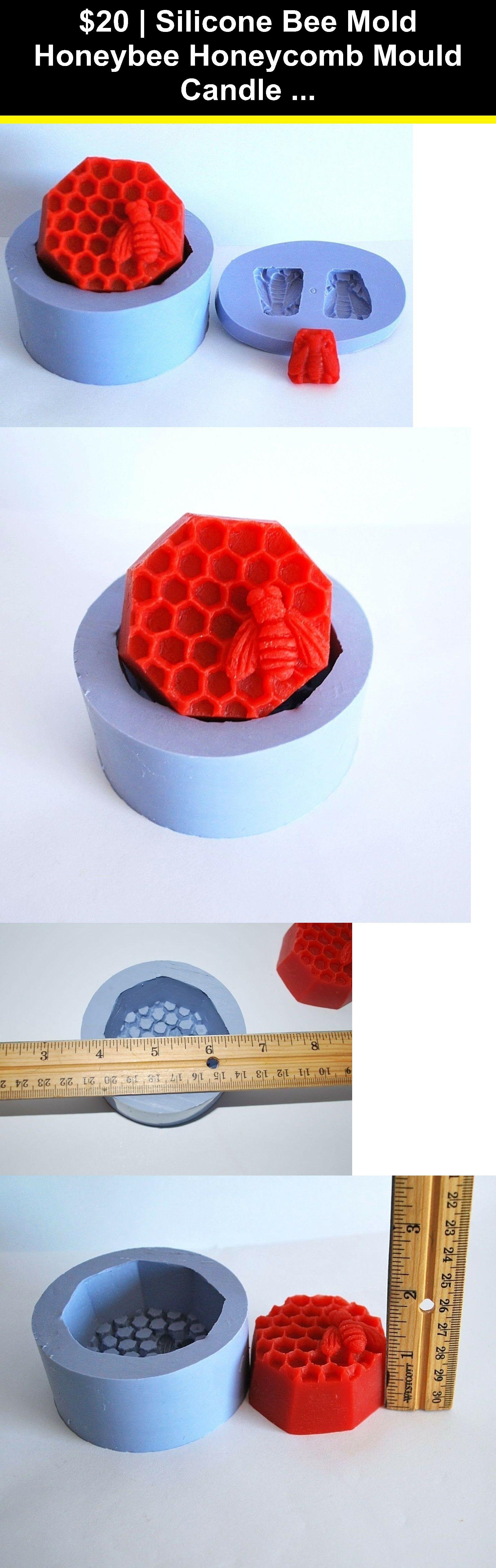 Candle molds 41207 silicone bee mold honeybee