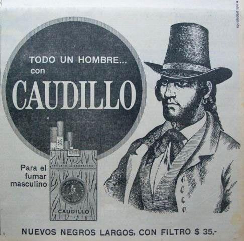 Parece que sólo era para hombres... pero la imagen del caballero parece más la de un señor de ciudad que de un caudillo... raro ¿no?