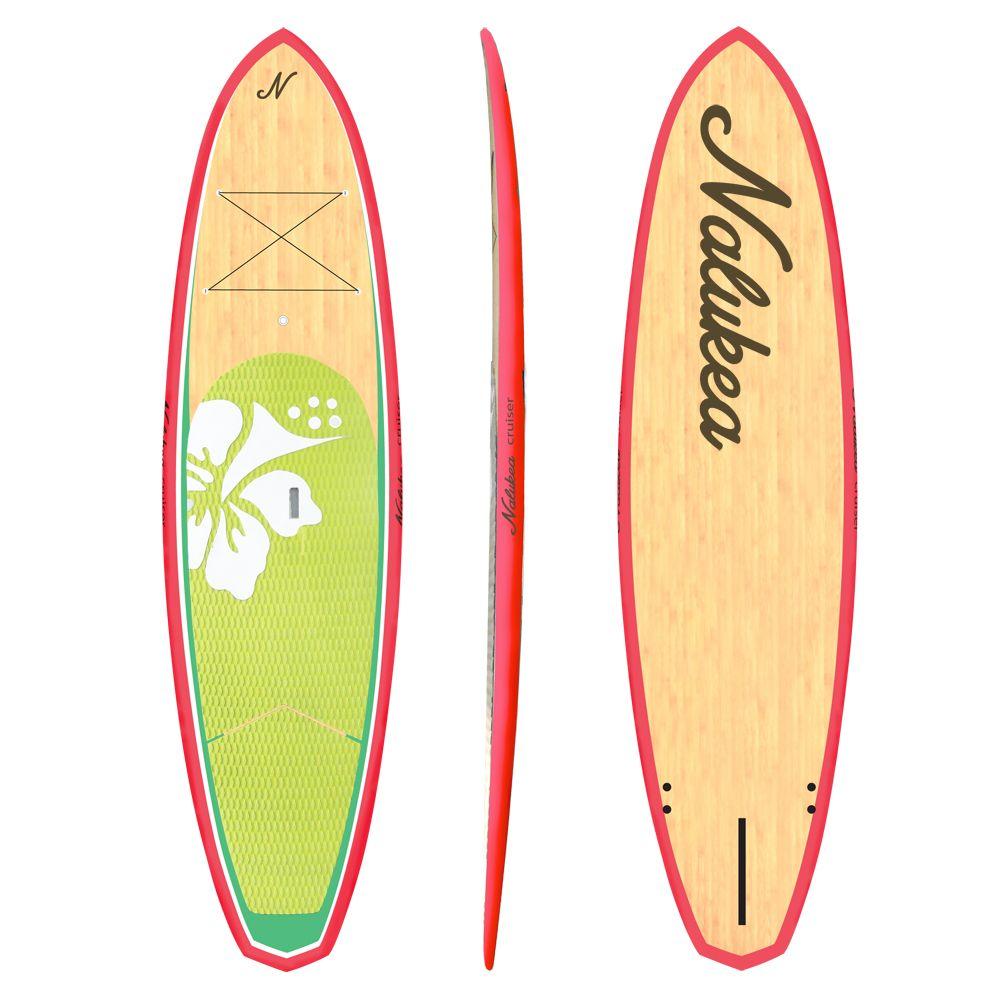 Designer S Stand Up Paddle Board Nalukea Cruiser Coral Super Cute Sup Boards Stand Up Paddle Boarding Standup Paddle Paddle Boarding Kayak For Beginners