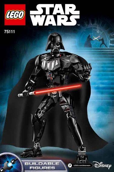 Star Wars Battle Figures Darth Vader Lego 75111 Lego Sets Of