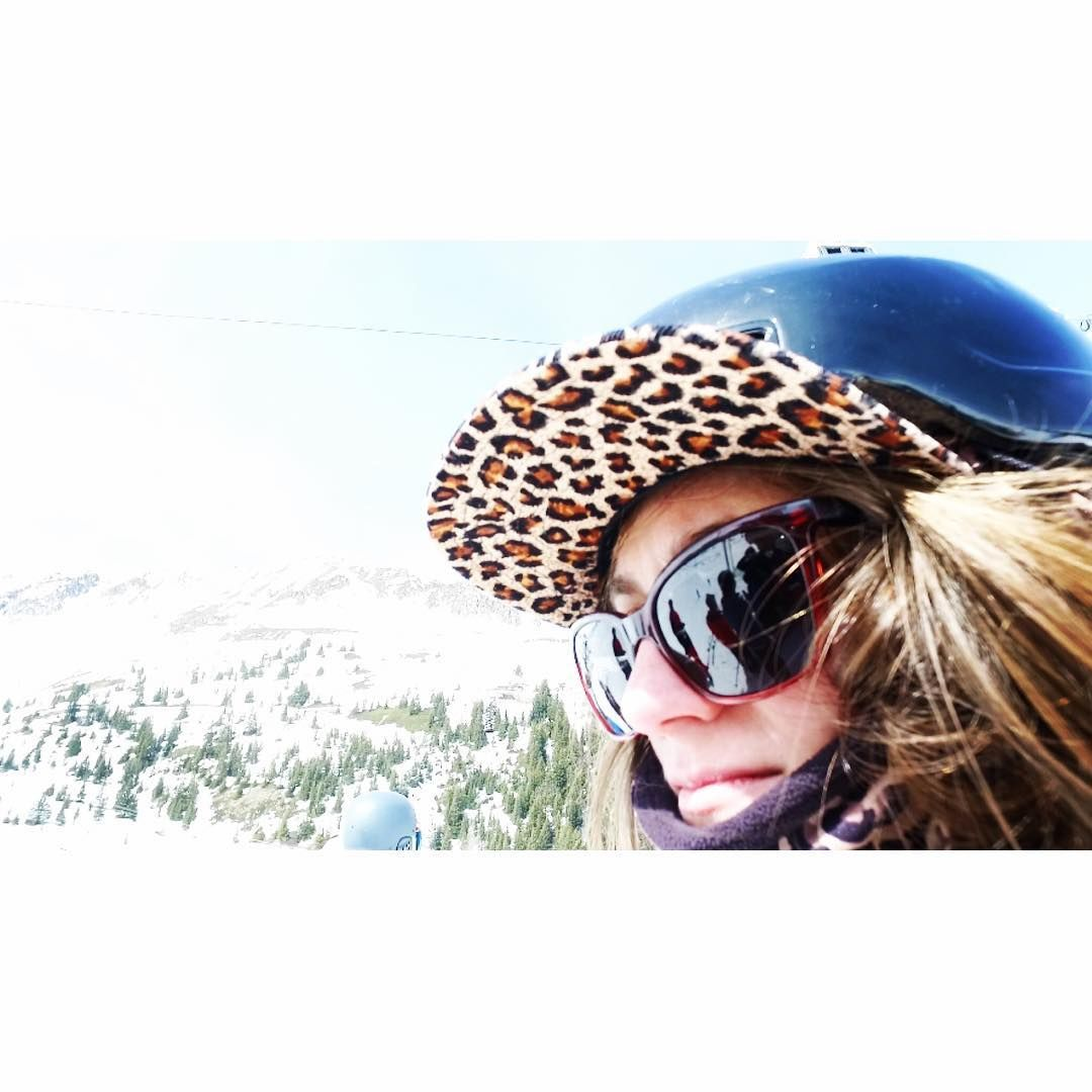 6396f4933e9 can t wait to shred on the glacier   Wearing Smith Optics Colette sunglasses