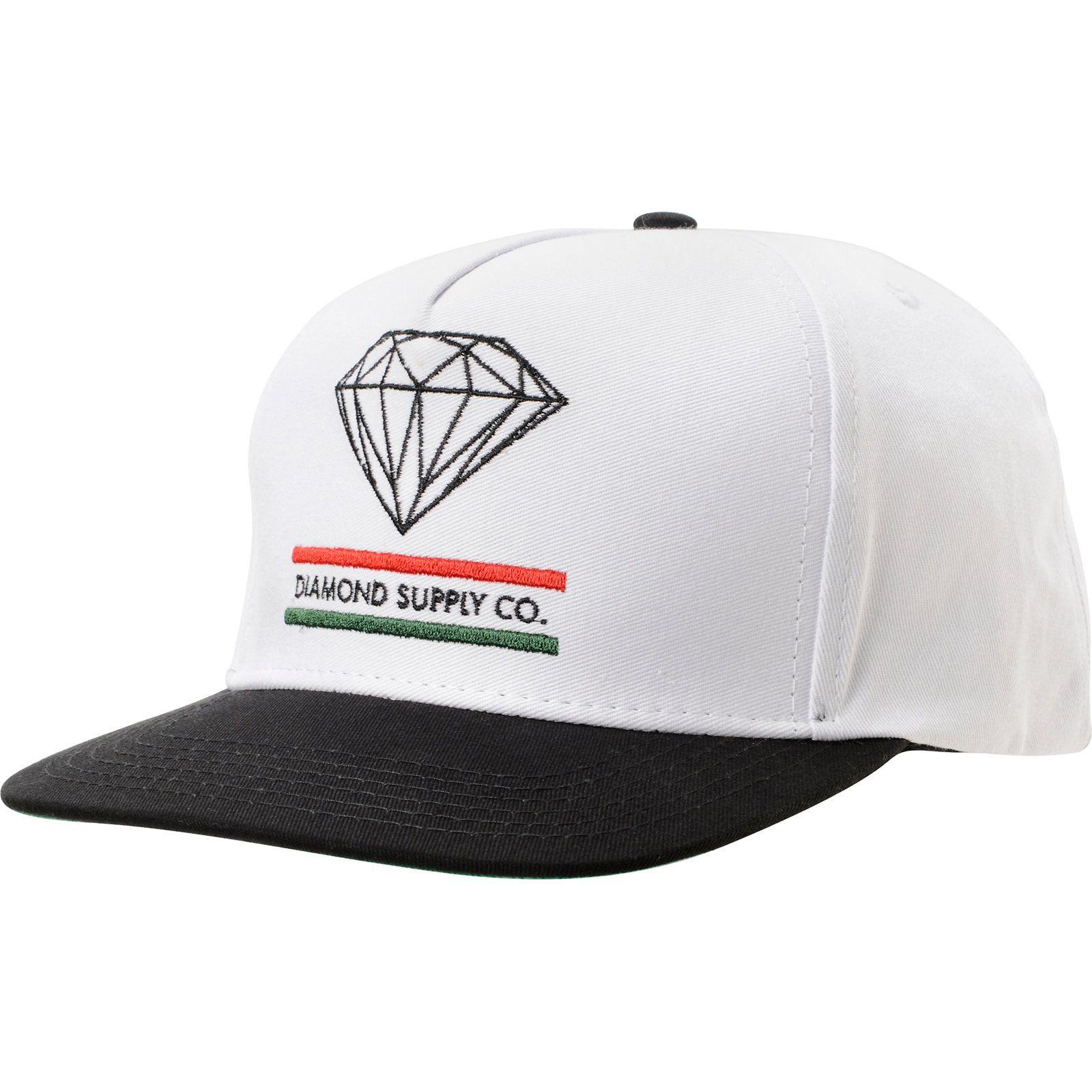 Diamond Supply Co 15 Years Of Brilliance White Snapback Hat