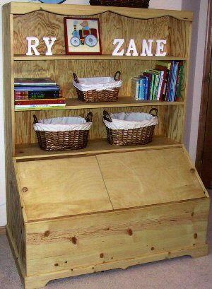 TOY BOX on Pinterest | Toy Boxes, Toys and Woodworking ...