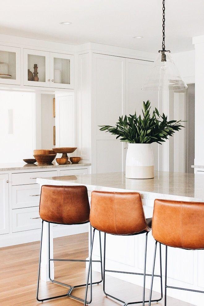 White Kitchen Renovation #interiordesignforkitchen