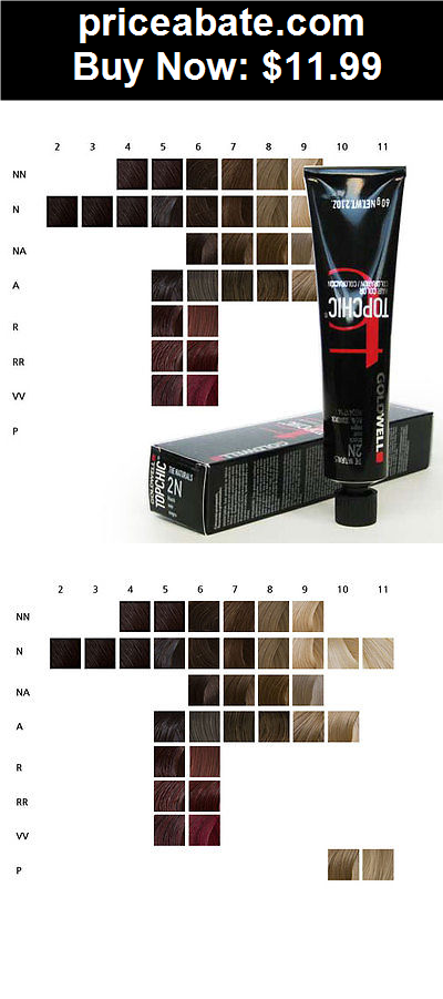 Hair Color Goldwell Topchic Permanent Hair Color Tubes 21 Oz