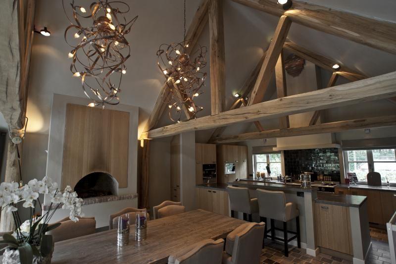 Natuurlijke Zolder Loft : Natuurlijke luxe atelier op zolder country cottage in 2018