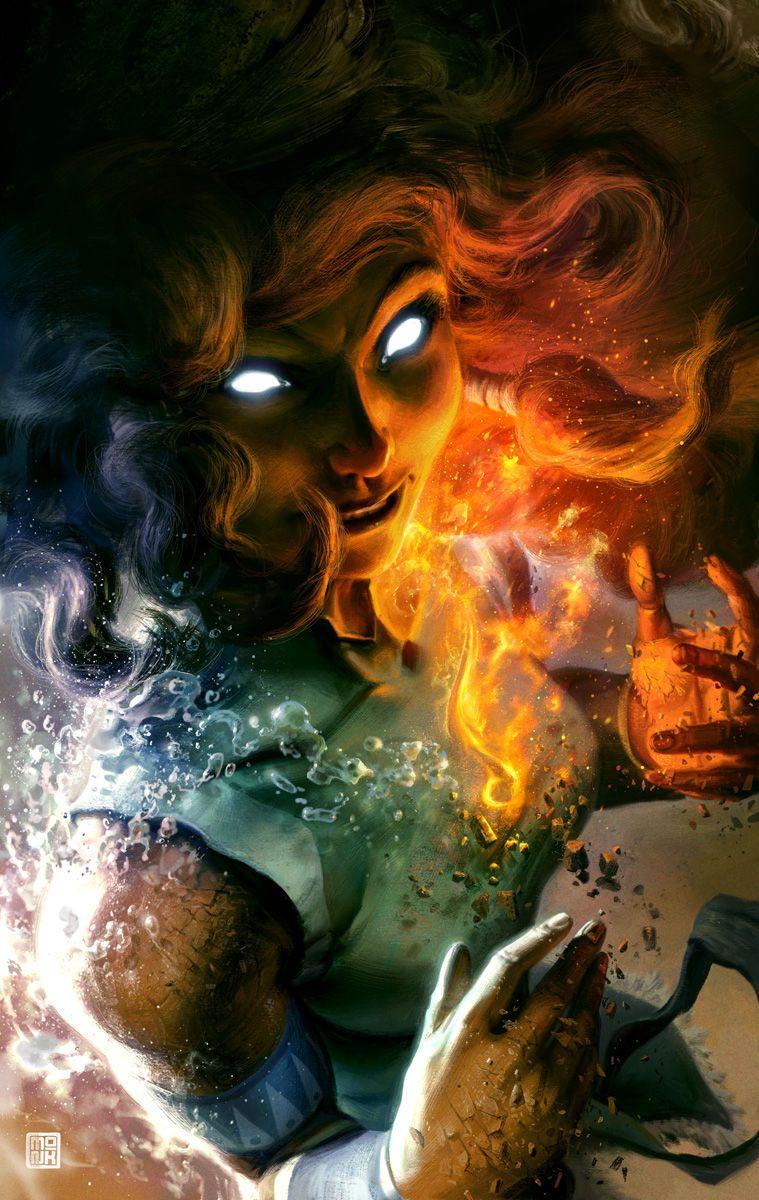 Avatar State:  Legend of Korra by *FabianMonk on deviantART