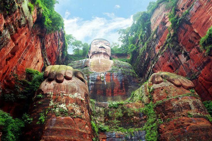Giant Buddha, Leshan, China