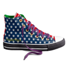 EVOLATTOLA - my favorite custom Chuck Taylor All Stars! Designed by little 'ol me.  Check out Converse.com and make your own.