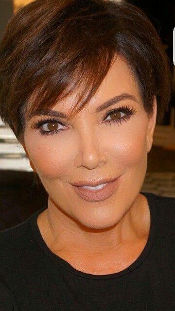 Short Hairstyles Kris Jenner