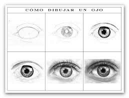 Resultado de imagen para dibujos de ojos a lapiz de muecos  Ojos