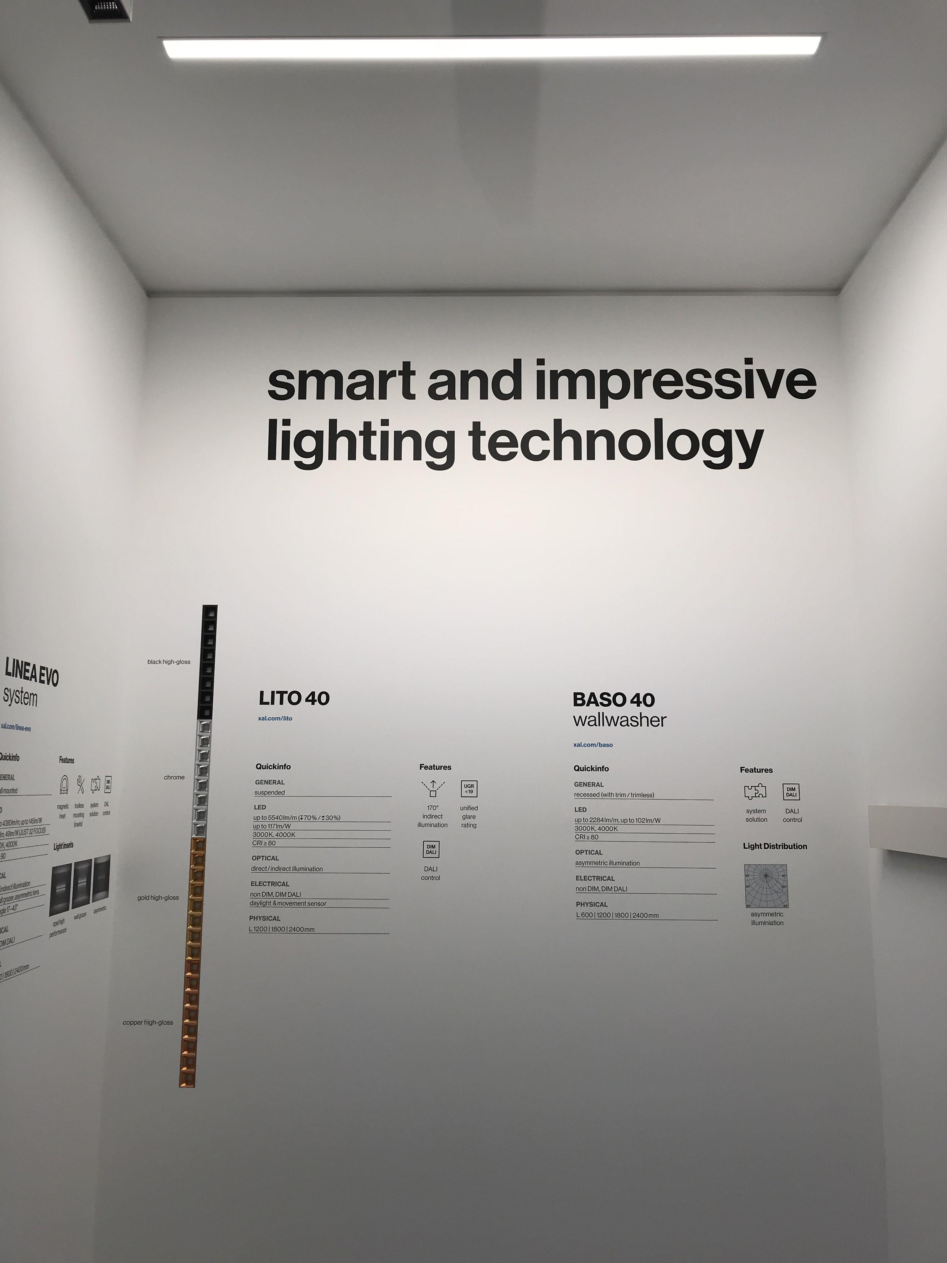 Xal Baso 40 Wallwash Products Led Lighting Solutions