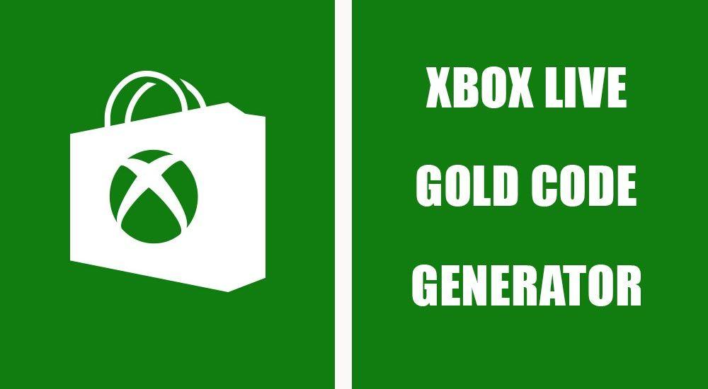 Free Xbox Live Codes — Free Xbox Live Gold Code Generator