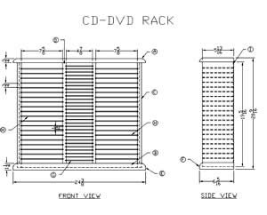 Wooden Cd Storage Rack Plans Dvd Cabinet And Storage In
