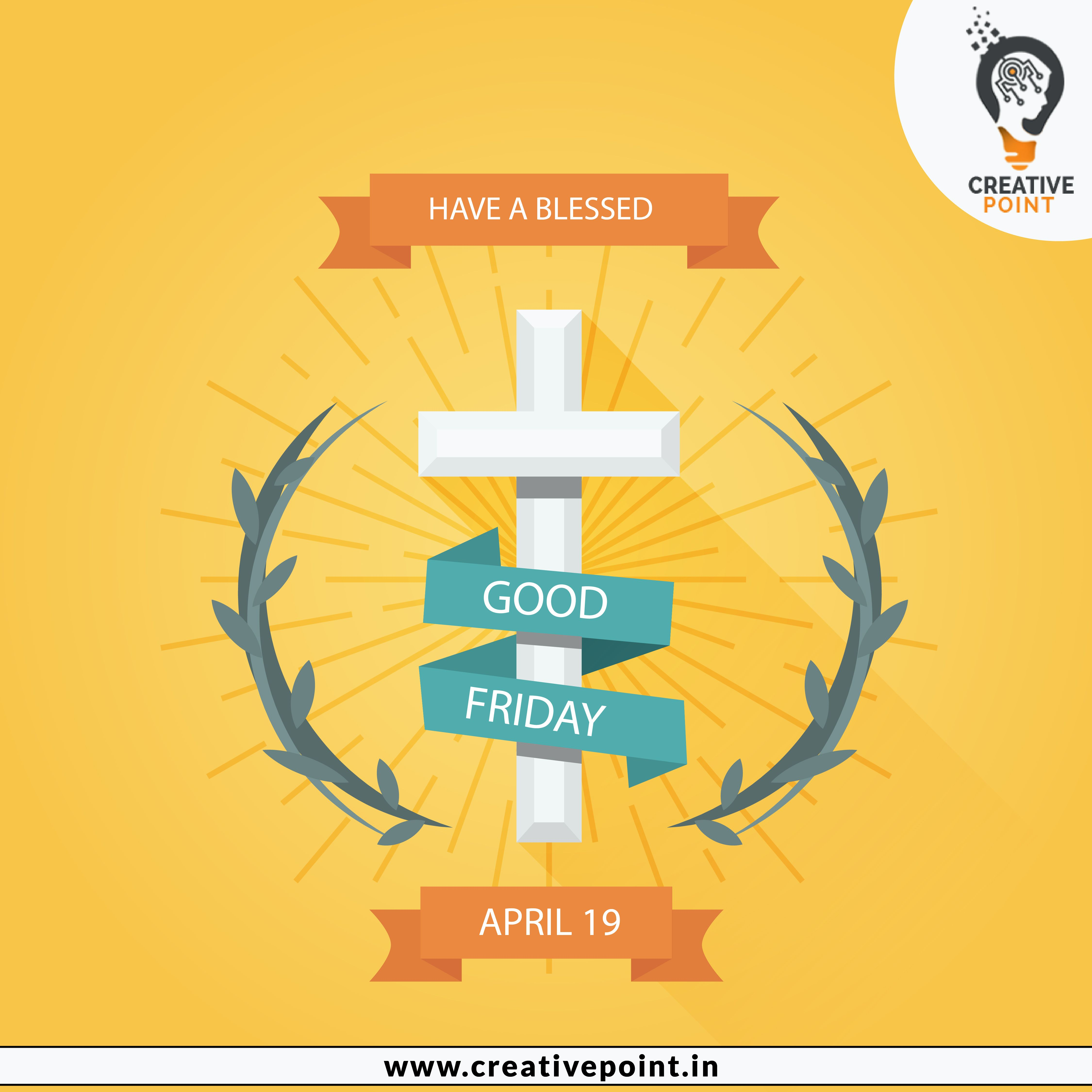 GoodFriday2019 Happy good friday wishes to all. Have a