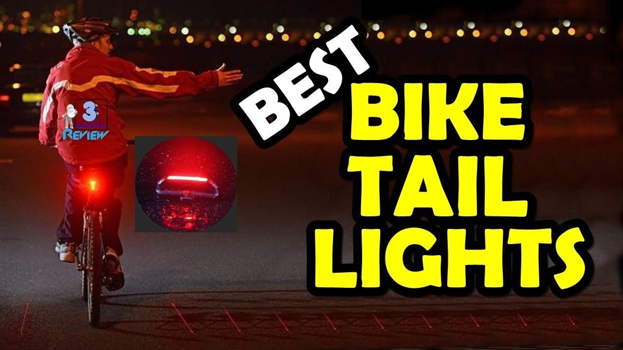Best Bicycle Tail Light Review Waterproof Rechargeable Led