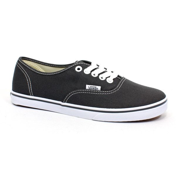 159220172a Vans Authentic Lo Pro Pewter White - 4.5 M Us Men   6 M Us Women ...