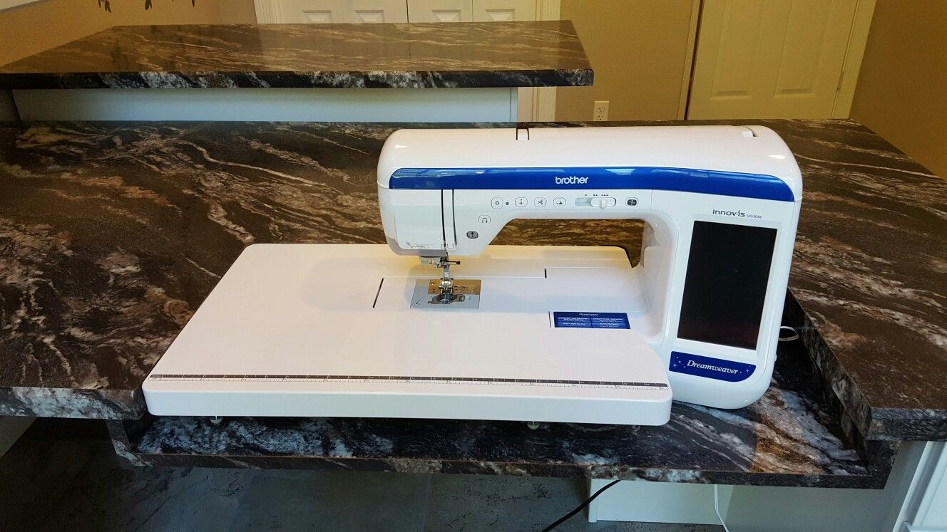 Brothers Dreamweaver quilting sewing machine. Sewing table ... : brothers quilting sewing machine - Adamdwight.com