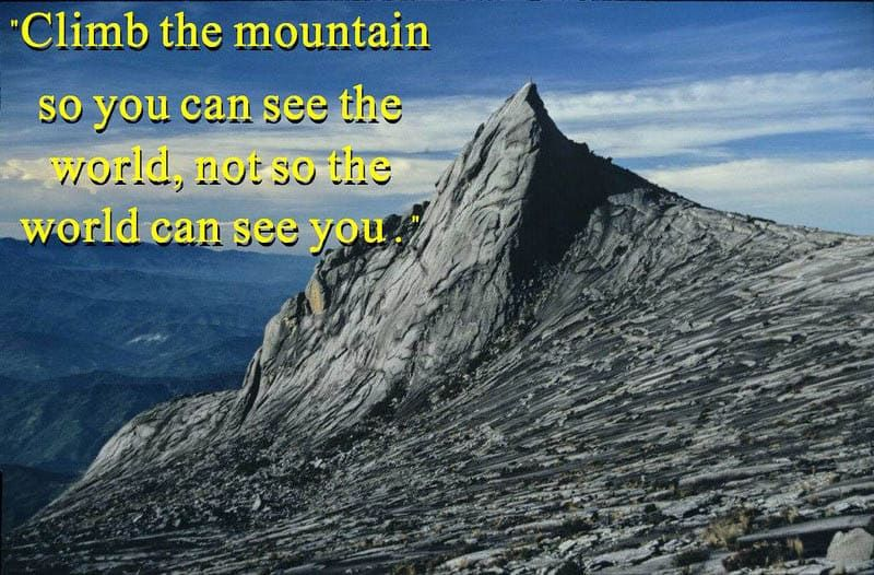 best travel quotes in the world pictures mount kinabalu