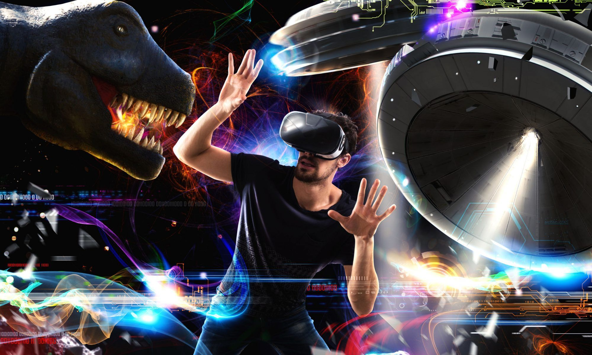 Spaces VR Best virtual reality, Virtual reality games