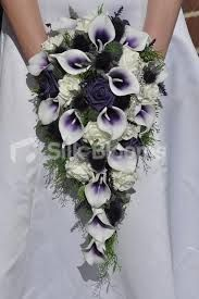 Image Result For Teardrop Purple Calla Lily Bridal Bouquets Purple Wedding Bouquets Calla Lily Wedding Calla Lily Bouquet Wedding