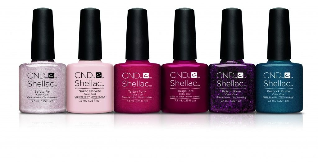 Fall Nail Polish Trends Review 2016: CND Shellac 14 Day Color, Vinylux Weekly Contradictions 2015 Collection | BeautyStat.com