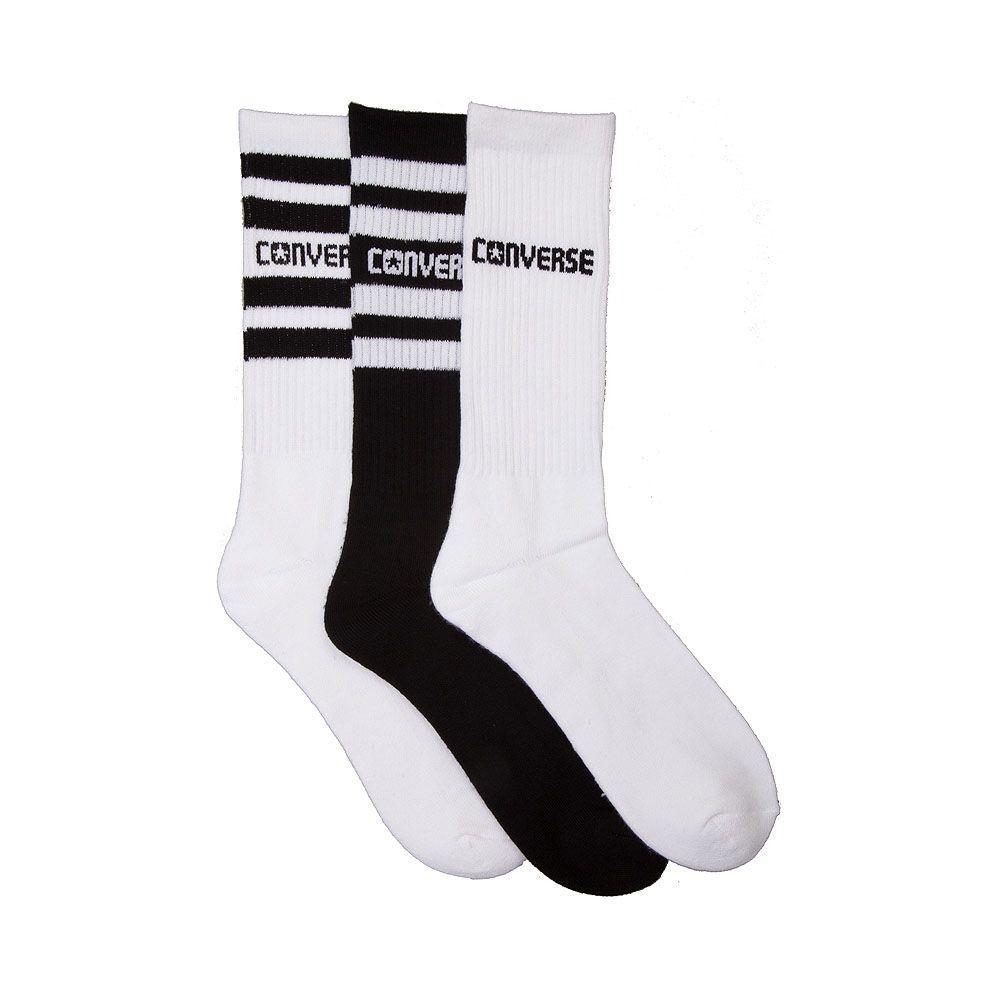 645e3c8808e0 Mens Converse Retro Crew Socks 3 Pack