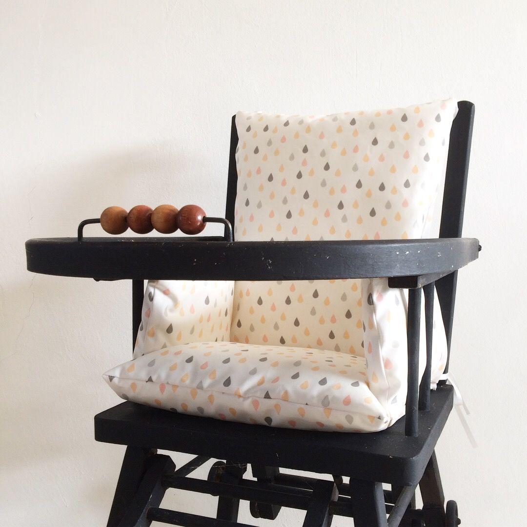La Chaise Haute Light Wood Zinc Aluminium Chaise Haute Chaise