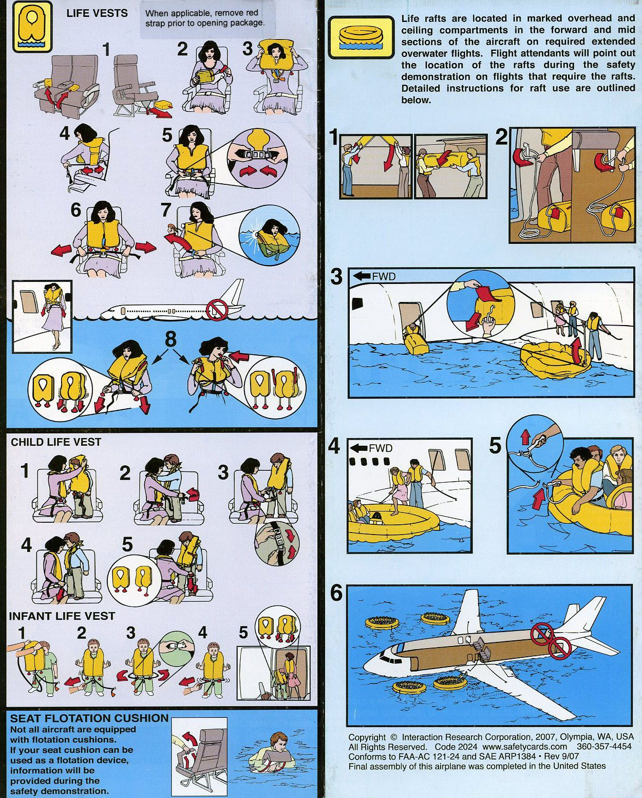 passengersafetyinformation1.jpg (1250×1554) Airplane