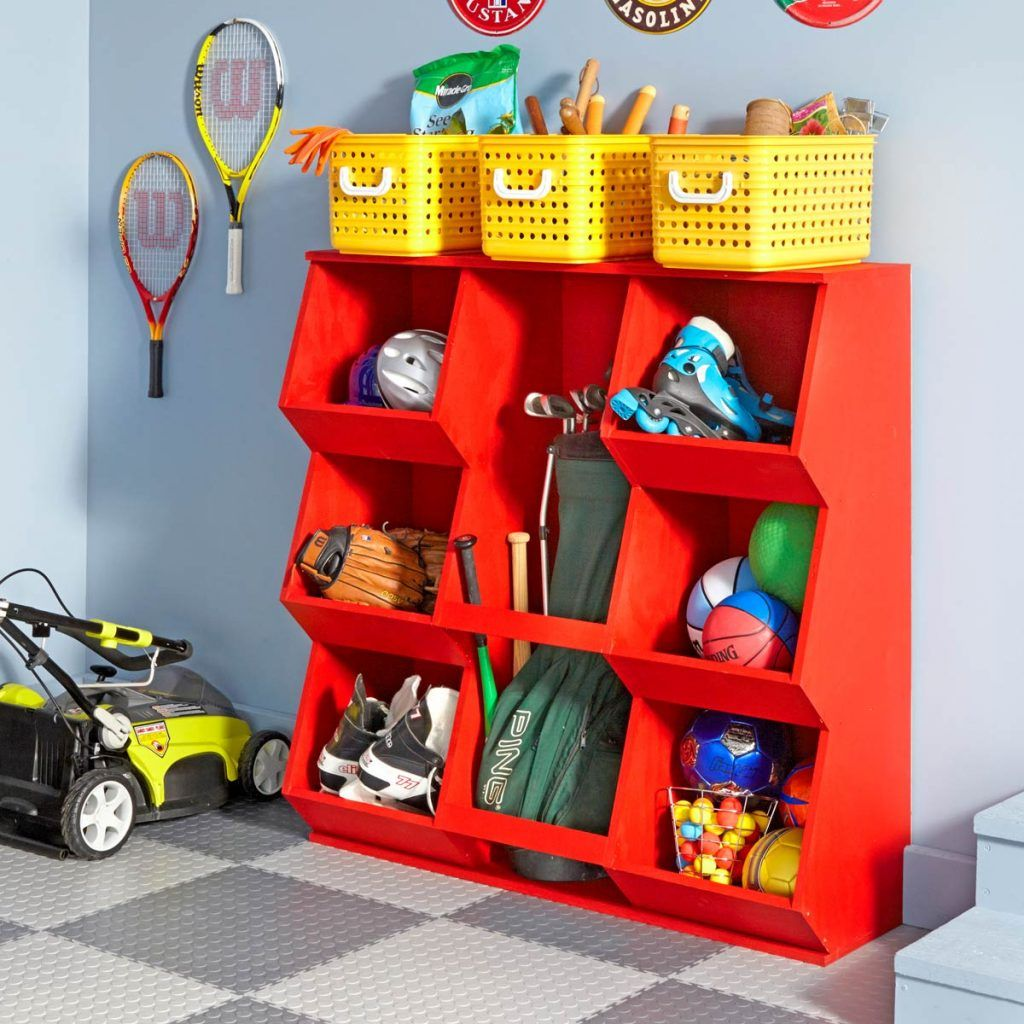 11 ideas for organizing your garage in 2020 diy toy on inspiring diy garage storage design ideas on a budget to maximize your garage id=49601