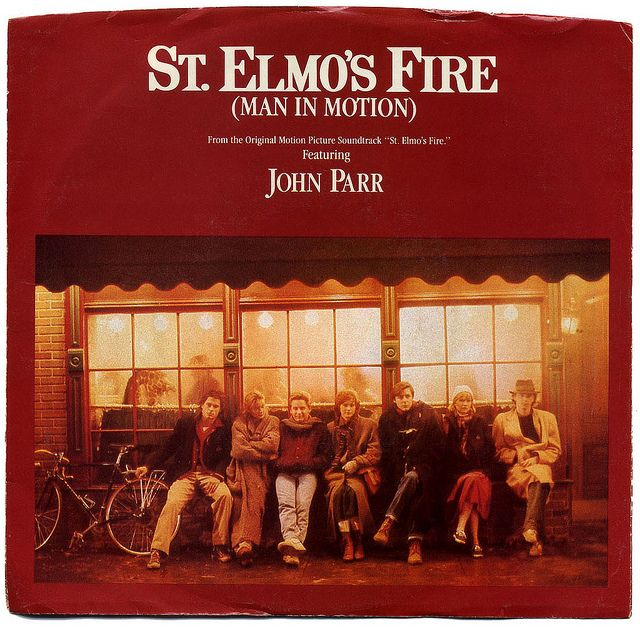 St. Elmo's Fire (Man In Motion), John Parr | St elmos fire, Motion picture,  Journey music