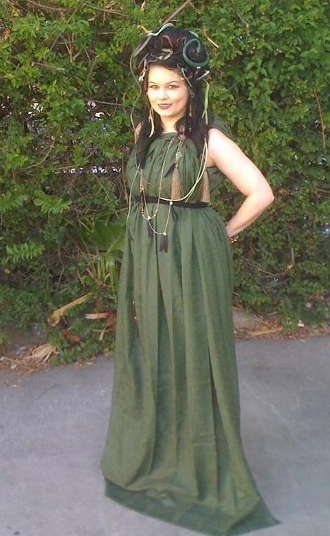 Homemade Medusa Costume Ideas.  sc 1 st  Pinterest & Homemade Medusa Costume Ideas. | Halloween makeup/costumes ...
