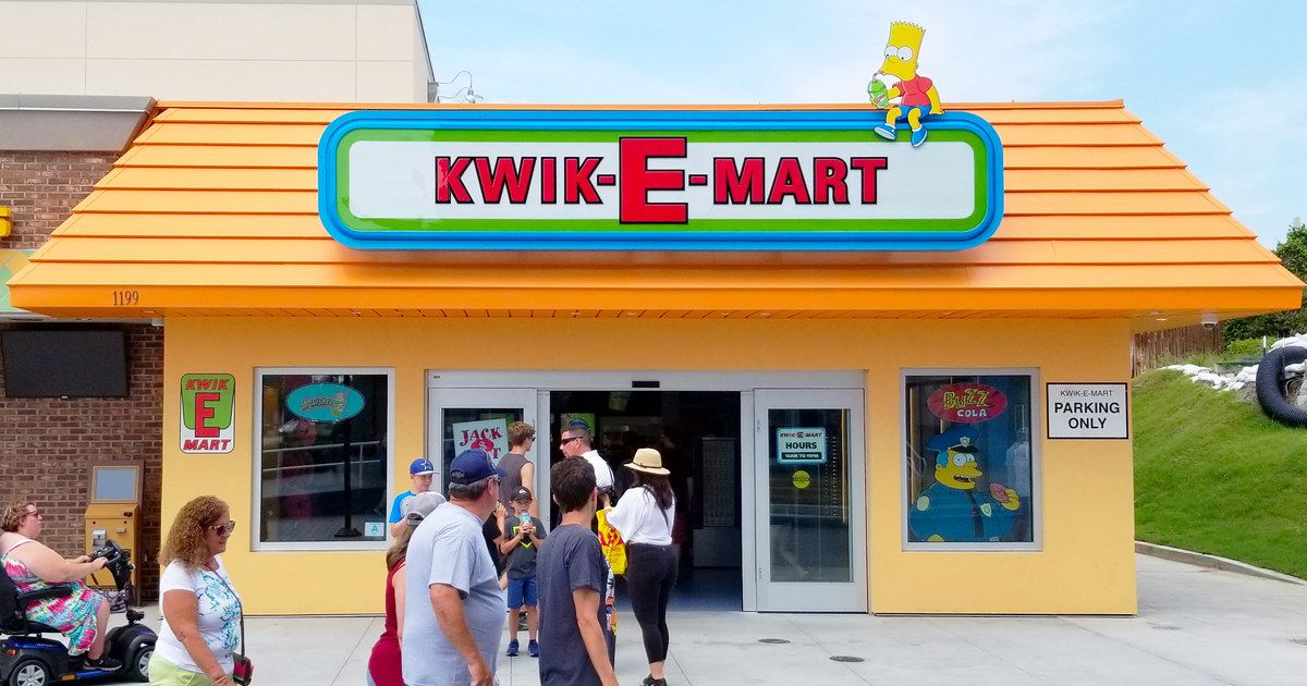 The Simpsons Kwik-E-Mart Opens First Ever Permanent ...