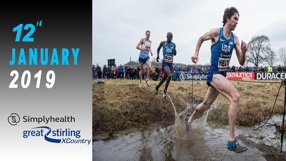 Great Stirling Cross Cross Country 2019 live stream and TV
